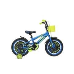 Bicicleta MOON Rocky 16 albastru