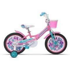 Bicicleta MOON Flory 16'' roz