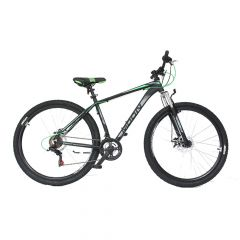 "Bicicleta MOON Rider 26"" graphite/verde 480 mm"