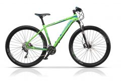 "Bicicleta CROSS Euphoria 27.5"" Verde 440mm"