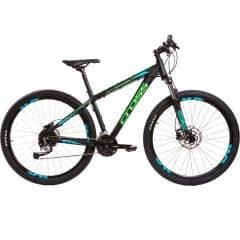 """Bicicleta CROSS Traction SL3 27.5"""" negru/verde 510mm"""