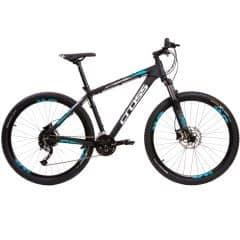 "Bicicleta CROSS Traction SL5 27.5"" negru/alb 460mm"