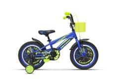 Bicicleta ULTRA Kidy 16'' roti alum. - albastru