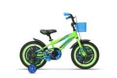 Bicicleta ULTRA Kidy 16'' roti alum. - verde