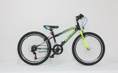 Bicicleta ULTRA Storm 24'' negru