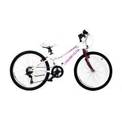 Bicicleta ULTRA Gravita 24'' alb