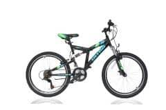 Bicicleta ULTRA Apex 24'' negru