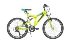 Bicicleta ULTRA Apex 24'' galben