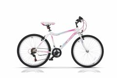 "Bicicleta ULTRA Gravita 26"" alb 420mm"