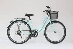 "Bicicleta ULTRA Tonus CTB 28"" verde 460mm"