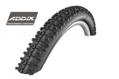 Cauciuc SCHWALBE SMART SAM Performance Addix HS476 26*2.25/57-559 B/B-SK Pliabil