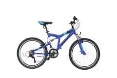 "Bicicleta MOON Nomad 24"" albastru"