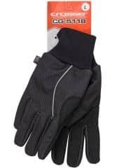 Manusi CROSSER RS-5118 cu degete - negru - L