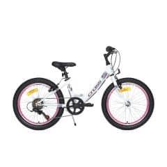 Bicicleta CROSS Alissa - 20'' junior - alb
