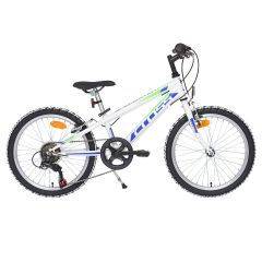 Bicicleta CROSS Speedster otel - 20'' junior - alb
