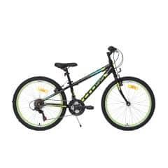 Bicicleta CROSS Speedster otel - 24'' junior - negru