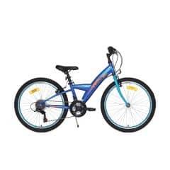 Bicicleta CROSS Rocky - 24'' junior - albastru