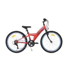 Bicicleta CROSS Rocky - 24'' junior - rosu