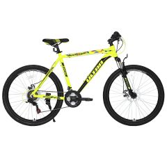 "Bicicleta ULTRA Agressor 26"" galben 440mm"