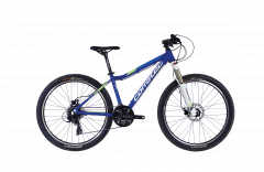 Bicicleta CORRATEC X-Vert Rock Team 26 albastru / verde - 340mm