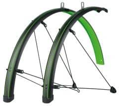 Aripi SKS Stingray 28'' negru/verde - set fata/spate