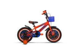 Bicicleta ULTRA Kidy 16 portocaliu/albastru/negru