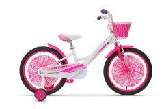 Bicicleta ULTRA Larisa 20'' alb/roz/mov