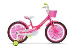 Bicicleta ULTRA Larisa 20'' roz/galben