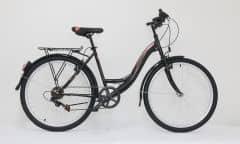 "Bicicleta ULTRA Tonus CTB 26"" negr/bej/portocaliu 460mm"