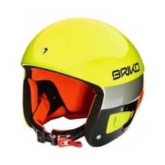 Casca ski BRIKO Vulcano FIS 6.8 SwedenAlbastru/Galben 54