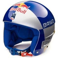 Casca ski BRIKO Vulcano FIS 6.8 Red Bull Argintiu/Albastru/Auriu 56