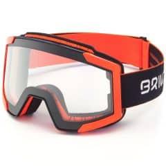 Ochelari ski BRIKO Lava FIS 7.6 Photo Negru/Portocaliu