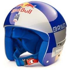 Casca ski BRIKO Vulcano FIS 6.8 Red Bull Argintiu/Albastru/Auriu SM