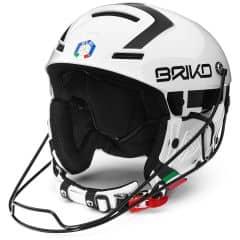 Casca ski BRIKO Slalom FISI Alb/Negru 60