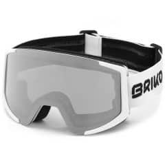 Ochelari ski BRIKO Lava XL OTG Alb