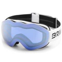 Ochelari ski BRIKO Wave HD Alb
