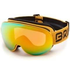 Ochelari ski BRIKO Sfera 2 Lenses HD Spicy Mustard
