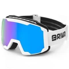 Ochelari ski BRIKO Lava FIS Alb