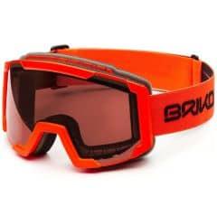 Ochelari ski BRIKO Lava Portocaliu/Negru