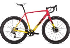 Bicicleta SPECIALIZED S-Works Crux DI2 Gloss Golden Yellow/Vivid Pink/Black 46