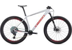 Bicicleta SPECIALIZED S-Works Epic Hardtail AXS 29'' - Gloss Dove Grey/Rocket Red/Crimson S