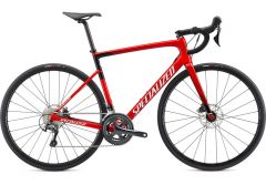 Bicicleta SPECIALIZED Tarmac Disc - Gloss Flo Red/Metallic White Silver/Fine Silver 56