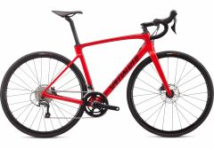 Bicicleta SPECIALIZED Roubaix - Gloss Flo Red/Blue Ghost Pearl/Tarmac Black 61