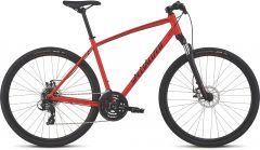Bicicleta SPECIALIZED Crosstrail - Mechanical Disc - Satin Rocket Red/Limon/Black Reflective L