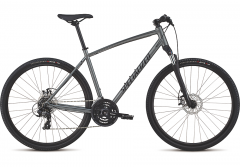Bicicleta SPECIALIZED Crosstrail - Mechanical Disc - Satin Charcoal/Black/Black Reflective S