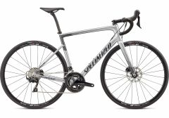 Bicicleta SPECIALIZED Tarmac Disc Sport - Gloss Light Silver/Charcoal/Tarmac Black 56