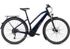 Bicicleta SPECIALIZED Turbo Vado 3.0 Step-Through - Gloss Cast Blue/Black/Liquid Silver M