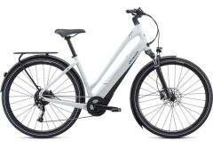 Bicicleta SPECIALIZED Turbo Como 3.0 700C - Low-Entry - Metallic White Silver/Black S