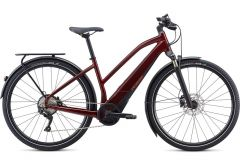 Bicicleta SPECIALIZED Turbo Vado 4.0 Step-Through - Metallic Crimson/Black/Rocket Red XL