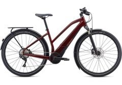 Bicicleta SPECIALIZED Turbo Vado 4.0 Step-Through - Metallic Crimson/Black/Rocket Red M